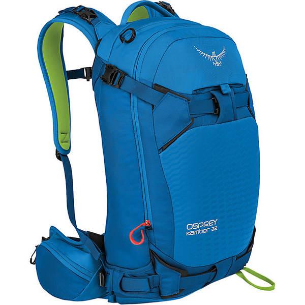 オスプレー メンズ バックパック・リュックサック バッグ Osprey Men's Kamber 32 Pack Cold Blue