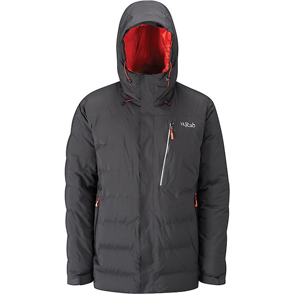 ラブ メンズ ジャケット&ブルゾン アウター Rab Men's Resolution Jacket Black / Horizon