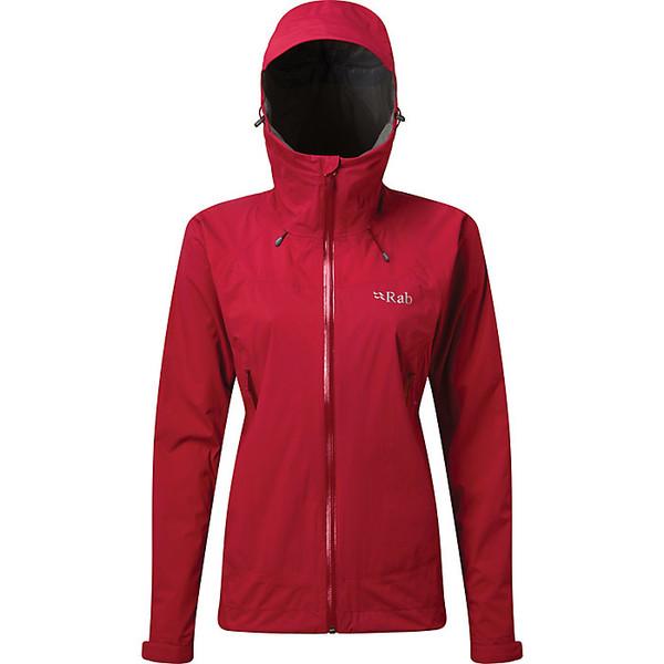 ラブ レディース ジャケット&ブルゾン アウター Rab Women's Downpour Plus Jacket Ruby