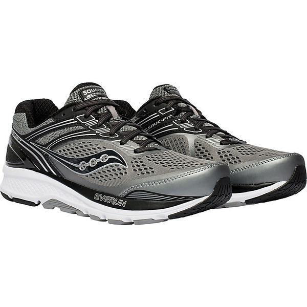 サッカニー メンズ ランニング スポーツ Saucony Men's Echelon 7 Shoe Grey / Black