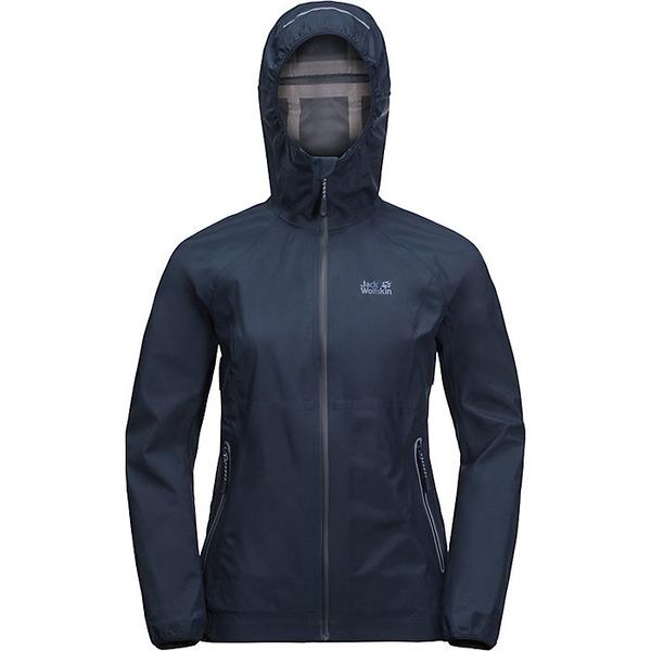 ジャックウルフスキン レディース ジャケット&ブルゾン アウター Jack Wolfskin Women's Misty Peak Jacket Midnight Blue