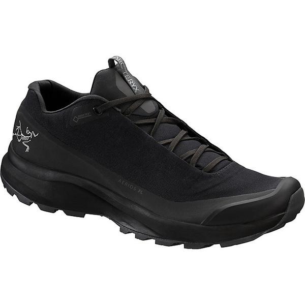 アークテリクス メンズ ハイキング スポーツ Arcteryx Men's Aerios FL GTX Shoe Black / Pilot