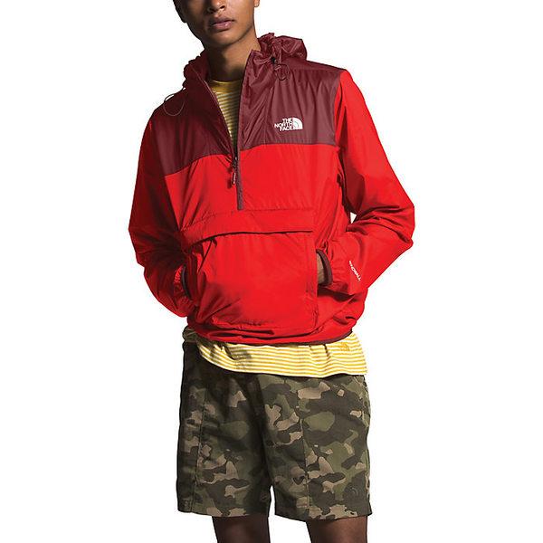 ノースフェイス メンズ ジャケット&ブルゾン アウター The North Face Men's Fanorak Fiery Red / Barolo Red