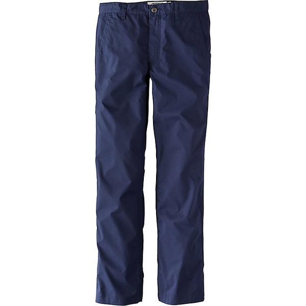 マウンテンカーキス メンズ ハイキング スポーツ Mountain Khakis Men's Stretch Poplin Slim Fit Pant Navy