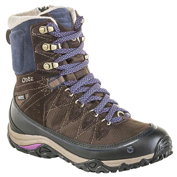 オボズ レディース ハイキング スポーツ Oboz Women's Juniper 8IN Insulated BDry Boot Cocoa / Cobalt