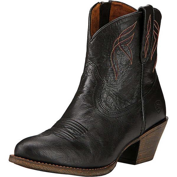 アリアト レディース ブーツ&レインブーツ シューズ Ariat Women's Darlin Boot Old Black