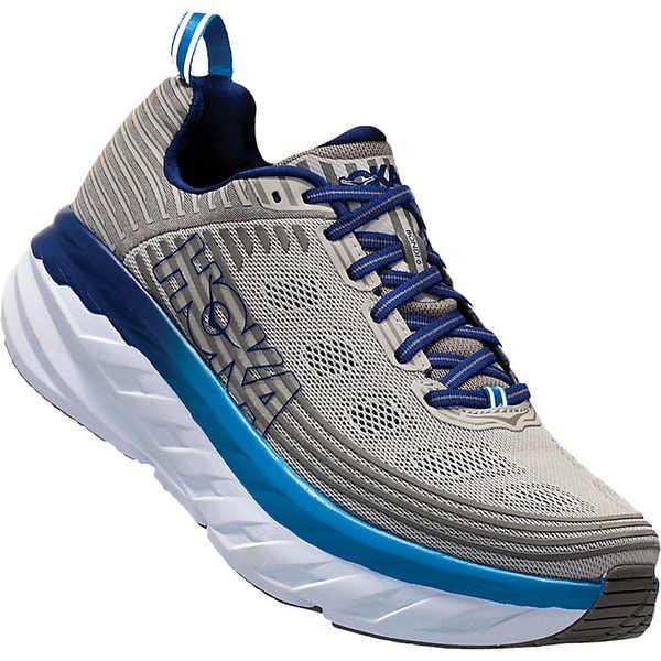 ホッカオネオネ メンズ ランニング スポーツ Hoka One One Men's Bondi 6 Shoe Vapor Blue / Frost Grey