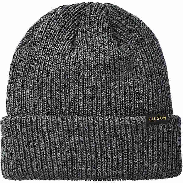 フィルソン メンズ 帽子 アクセサリー Filson Watch Cap Charcoal