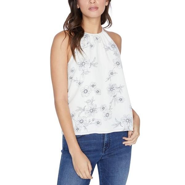 サンクチュアリー レディース カットソー トップス Haven Floral-Print Top White:asty