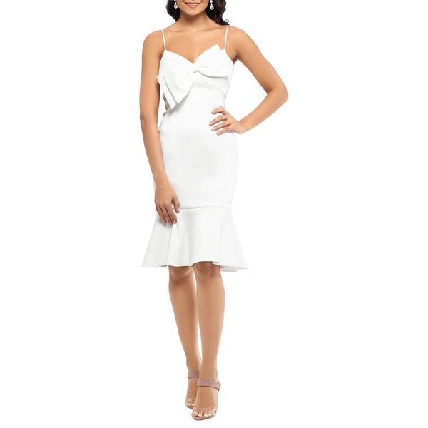 エスケープ トップス レディース Dress ワンピース トップス Bow Sheath Sheath Dress Ivory, 六合村:fa1c5e33 --- officewill.xsrv.jp