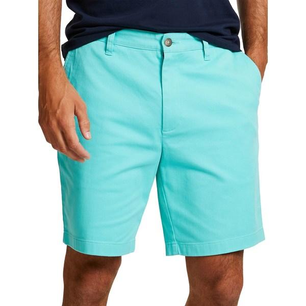 ナウティカ メンズ ハーフ&ショーツ ボトムス Flat-Front Shorts Aqua