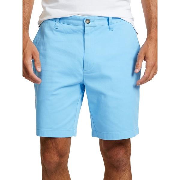 ナウティカ メンズ ハーフ&ショーツ ボトムス Flat-Front Shorts Alaskan Blue