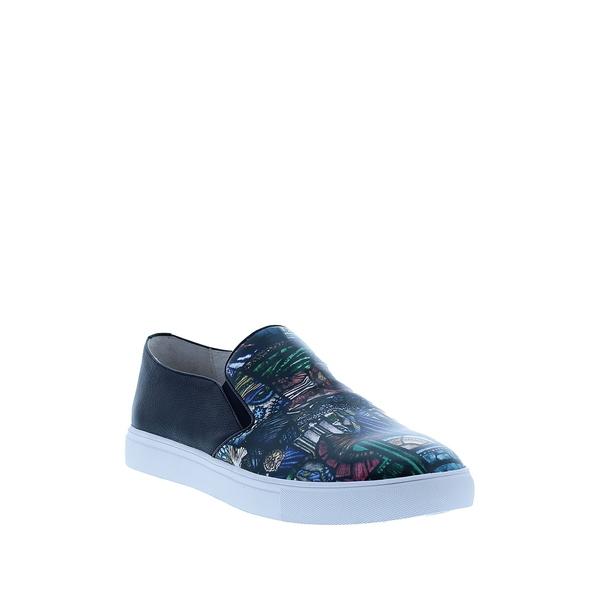 Leather メンズ Galileo スニーカー シューズ Slip-On NAVY ロバートグラハム Sneaker