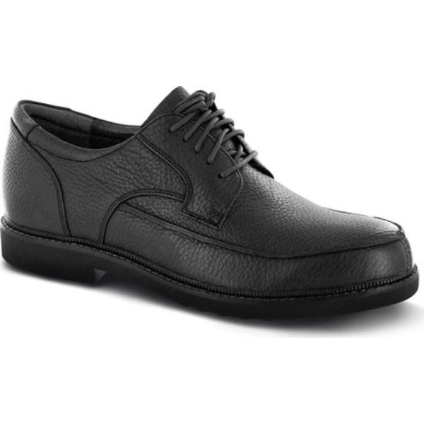 アペックス メンズ ドレスシューズ シューズ LT900 Oxford (Men's) Black Leather