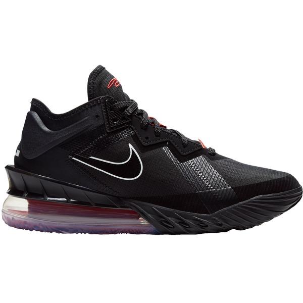 Nike レディース スポーツ バスケットボール Blk/Wht/Uni Red 全商品無料サイズ交換 ナイキ レディース バスケットボール スポーツ Nike Lebron 18 Low Basketball Shoes Blk/Wht/Uni Red