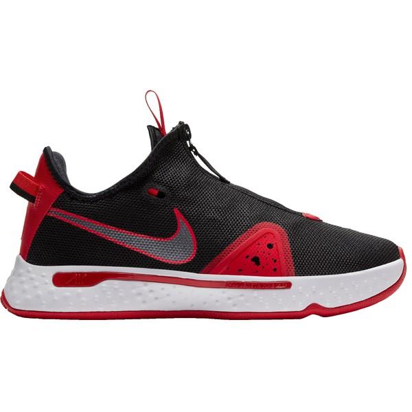 Nike レディース スポーツ バスケットボール Black/University Red/W 全商品無料サイズ交換 ナイキ レディース バスケットボール スポーツ Nike PG4 Basketball Shoes Black/University Red/W