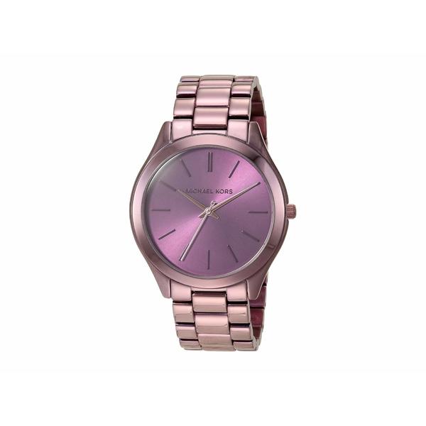 マイケルコース レディース 腕時計 アクセサリー MK4415 - Slim Runway Purple