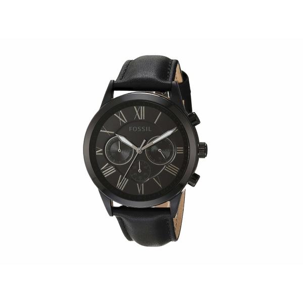 フォッシル メンズ 腕時計 アクセサリー 43 mm Flynn Mid Size BQ1734 Black