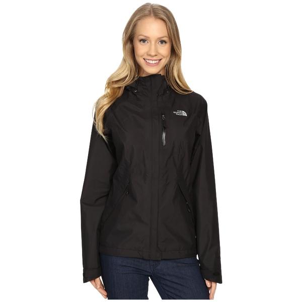 ノースフェイス レディース コート アウター Dryzzle Jacket TNF Black 2