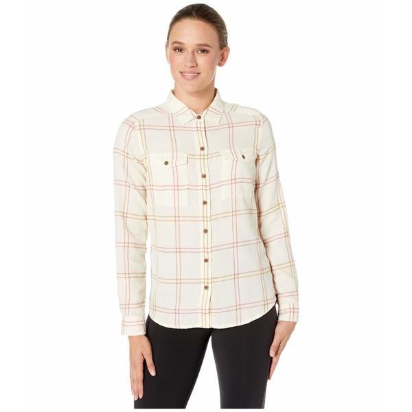 ドード アンドコー レディース シャツ トップス Re-Form Flannel Shirt Egret
