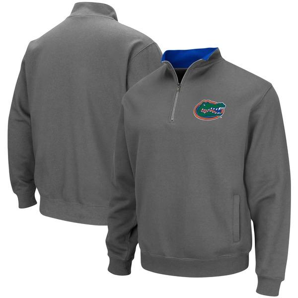 コロシアム メンズ ジャケット&ブルゾン アウター Florida Gators Colosseum Tortugas Logo QuarterZip Pullover Jacket Black