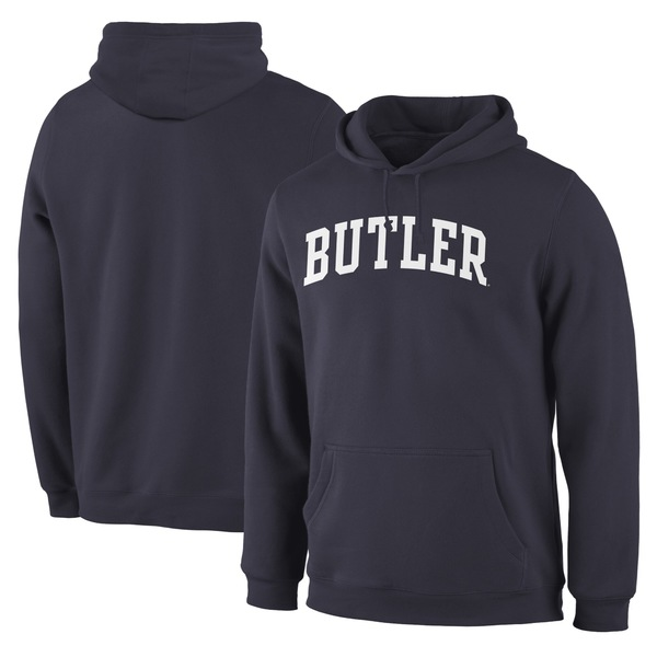 ファナティクス メンズ パーカー・スウェットシャツ アウター Butler Bulldogs Fanatics Branded Basic Arch Pullover Hoodie Navy:asty
