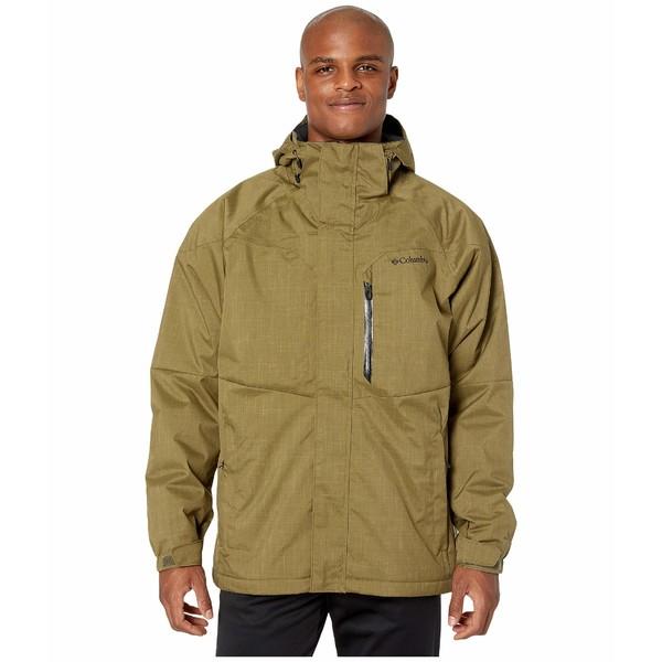 コロンビア メンズ コート アウター Alpine Action Jacket Olive Brown