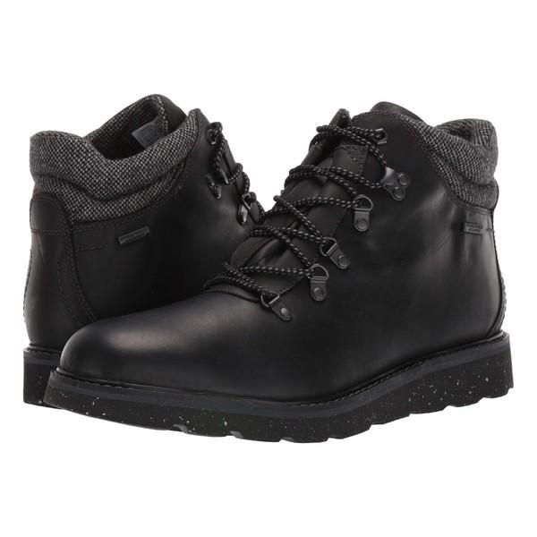 ロックポート メンズ ブーツ&レインブーツ シューズ Storm Front Waterproof Alpine Boot Black Leather