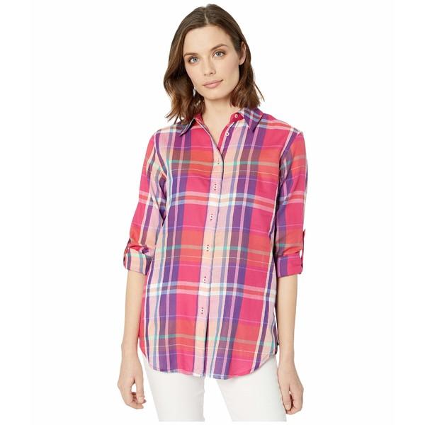 ラルフローレン レディース シャツ トップス Plaid Cotton Twill Shirt Pink/Multi