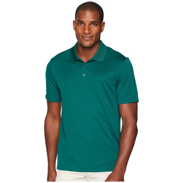 アディダス メンズ シャツ トップス Performance Polo Collegiate Green