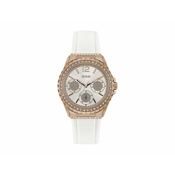 ゲス レディース 腕時計 アクセサリー U0846L5M Rose Gold/White
