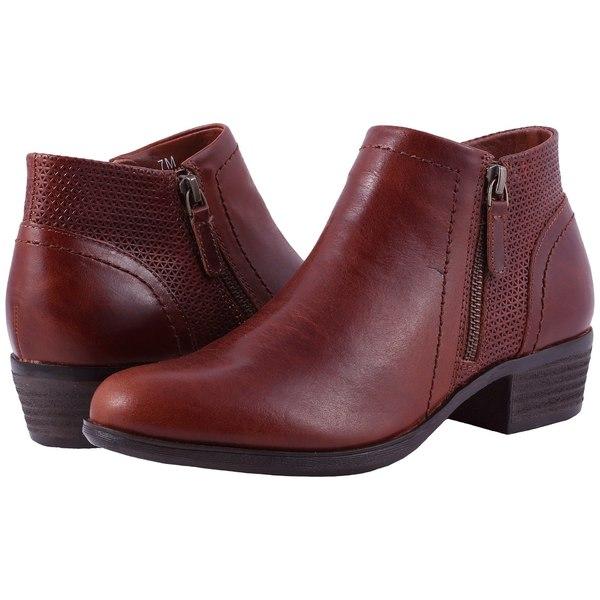 コブ ヒル レディース ブーツ&レインブーツ シューズ Cobb Hill Oliana Panel Boot Saddle Pull Up Leather