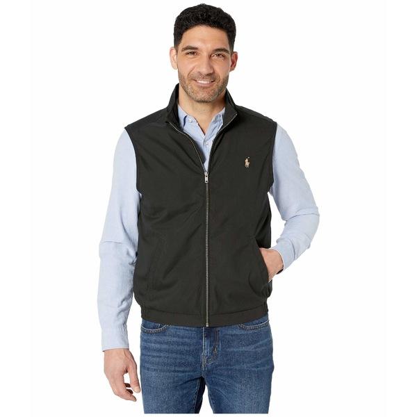 ラルフローレン メンズ コート アウター Windbreaker Vest Polo Black