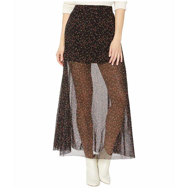 フリーピープル レディース スカート ボトムス Seven Wonders Skirt Black Combo