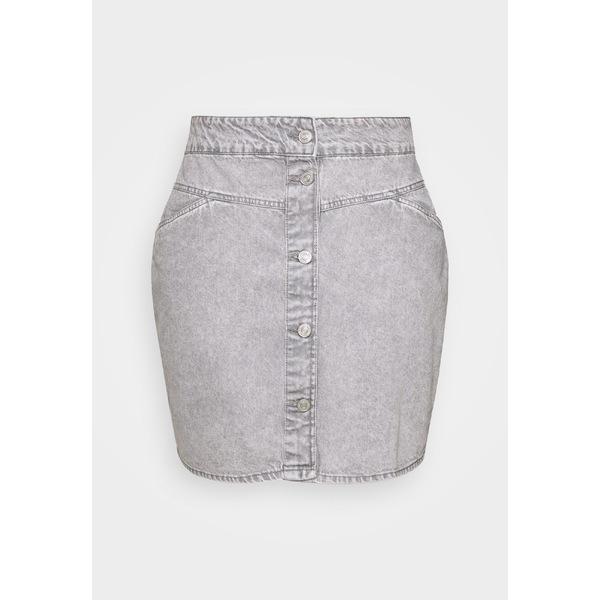 ノイジー メイ カーブ レディース ボトムス スカート light 販売期間 限定のお得なタイムセール grey denim JUNE SKIRT zyfc017e SHORT 全商品無料サイズ交換 贈り物 NMBE skirt - Mini