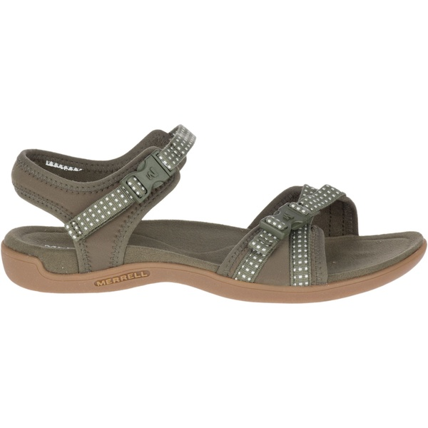 メレル レディース サンダル シューズ Merrell Women's District Muri Backstrap Sandals Olive