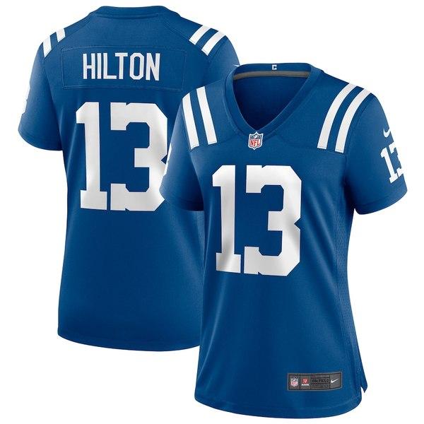 ナイキ レディース シャツ トップス T.Y. Hilton Indianapolis Colts Nike Women's Player Game Jersey Royal
