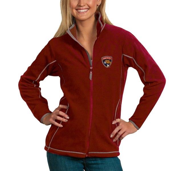 アンティグア レディース ジャケット&ブルゾン アウター Florida Panthers Antigua Women's Ice Full Zip Jacket Red