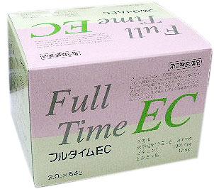 フルタイムEC 54包×3個組 天然型ビタミンE・ビタミンC・B2製剤 〔3類医〕