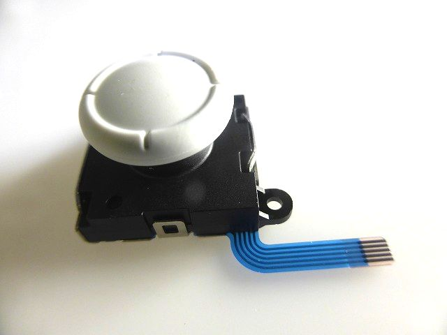 Switch Lite修理用 アナログスティック基板(白色)