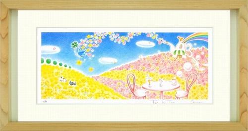 【版画・絵画】Sakura『Tea for Two』ジクレー■限定200部・新品★