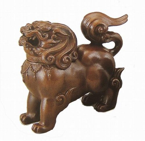 『獅子香炉(茶)』■新品★