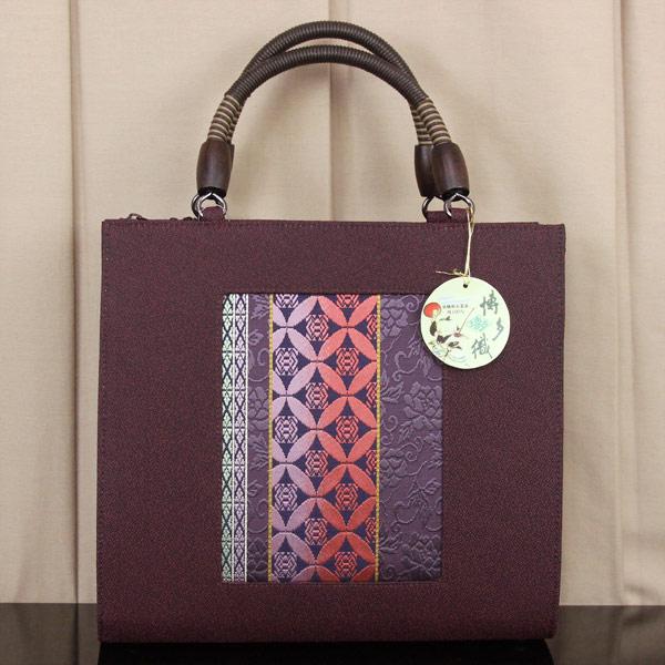 【あす楽】世美庵謹製 博多織 帯地 和装 バッグ「華三彩」日本製 bag1467【smtb-k】【w1】【後払い決済不可】