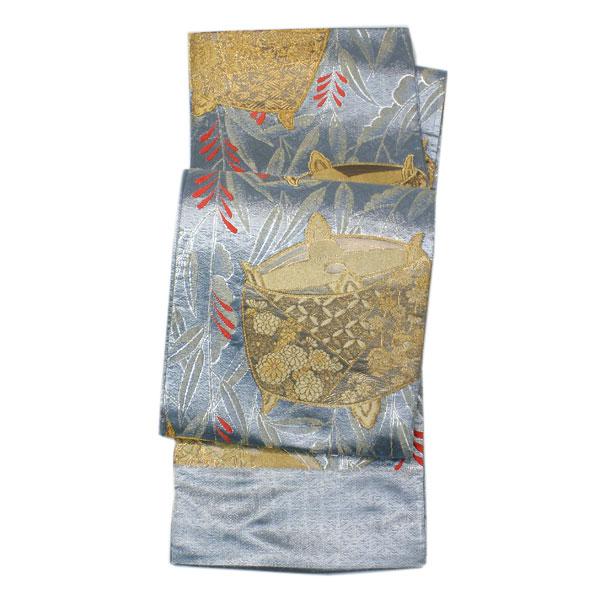 【お仕立て付き】振袖用 老舗 帯清謹製 絢爛豪華 袋帯 fo2255【smtb-k】【w1】 【後払い決済不可】