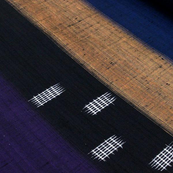 【袷のお仕立て付き】手織りシリーズ 置賜紬 経済産業大臣指定 「絣歳時記」 t2006 【smtb-k】【w1】【後払い決済不可】
