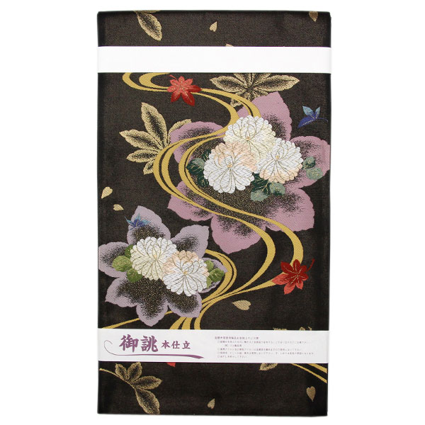 【お仕立て上がり】西陣 津村織物謹製 セミフォーマル用 袋帯「彩浪漫」pt3506【smtb-k】【w1】【後払い決済不可】