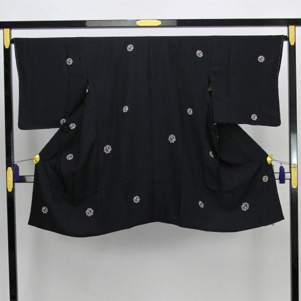 【お仕立て上がり】道中着 コート 丹後ちりめん 日本の絹 紋織 Lサイズ pt3684【smtb-k】【w1】【後払い決済不可】