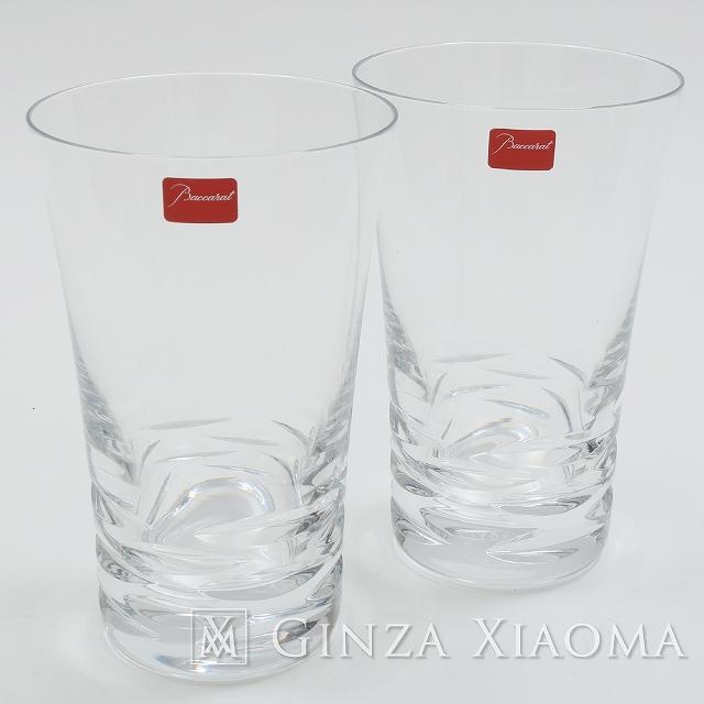 Baccarat / バカラ ローラ ペアタンブラー グラス 食器 lvw mns 【中古】