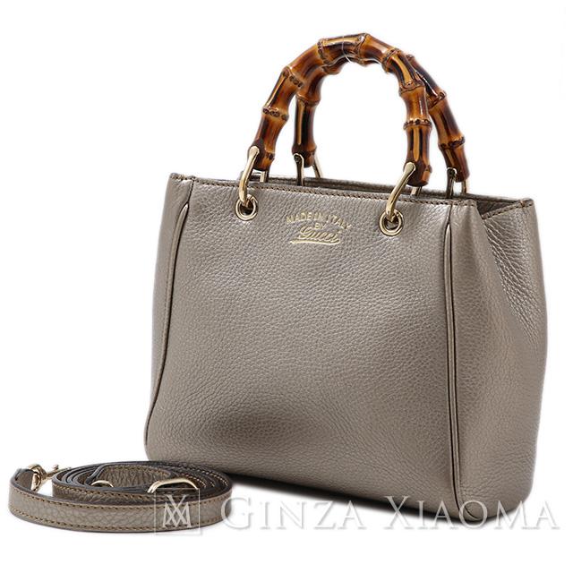 7a251cff55623b GINZA XIAOMA: GUCCI Gucci bamboo mini-bag 2way shoulder bag leather ...