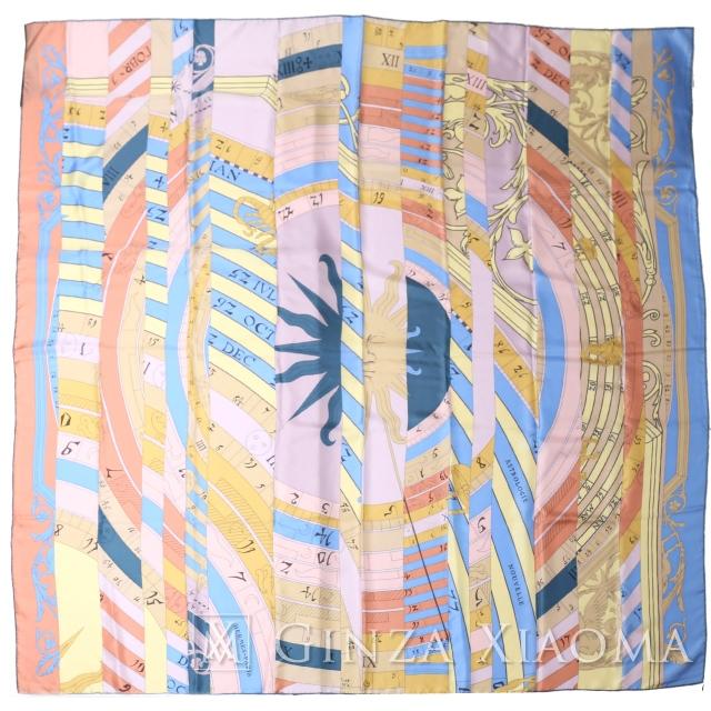 【銀座のエルメス専門店】【品数600以上】【未使用】HERMES エルメス カレ140 シルク ピンク スカーフ
